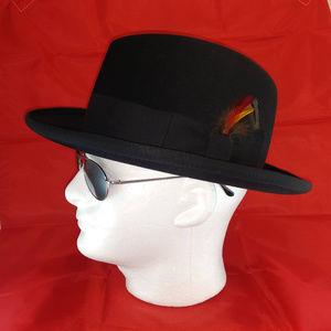 Stetson Men's Black Hat sz 7 1/4
